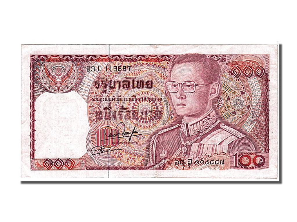 103961 tha lande 100 baht type 1978 81 sup 100 baht for Chambre de commerce francaise en thailande