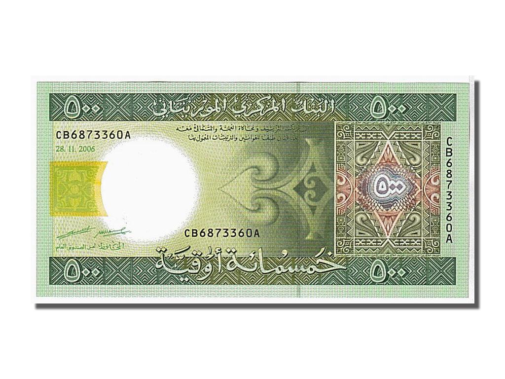 106285 mauritanie 500 ouguiya type 2004 neuf 500 for Chambre de commerce mauritanie