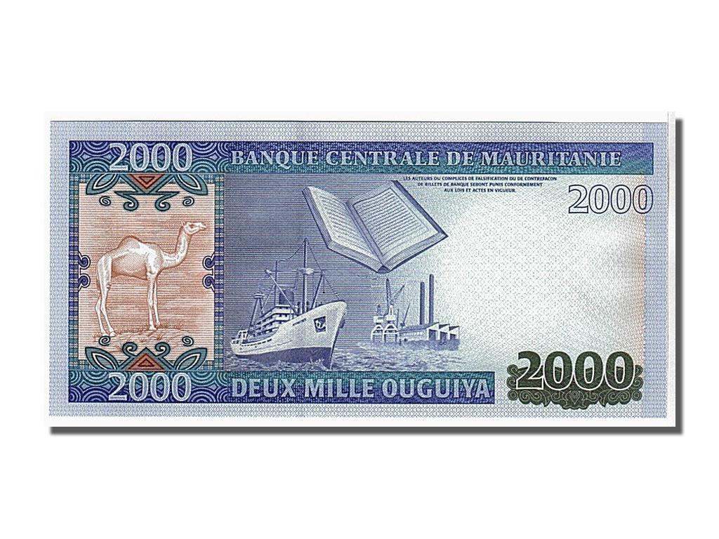 106364 mauritanie 2000 ouguiya type 2011 neuf 2000 for Chambre de commerce mauritanie