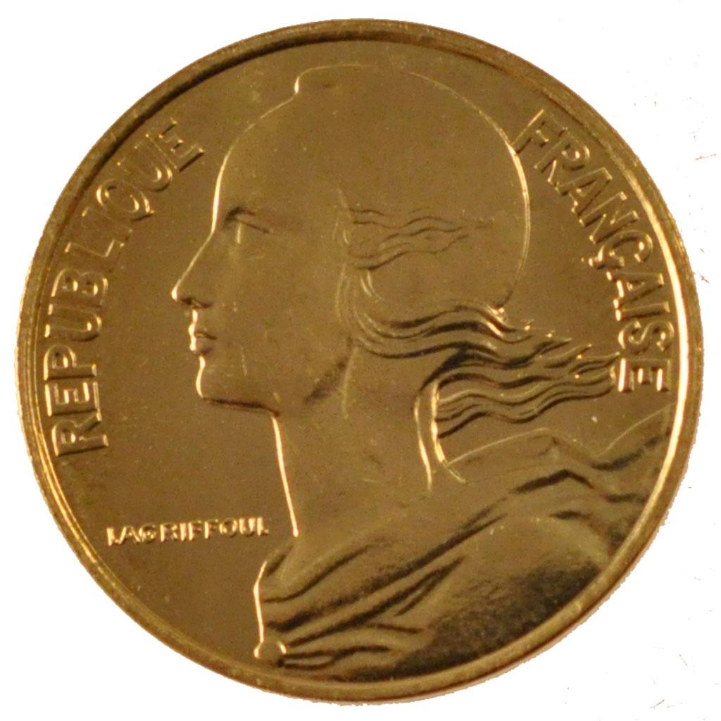 Vth Republic, 10 Centimes Marianne