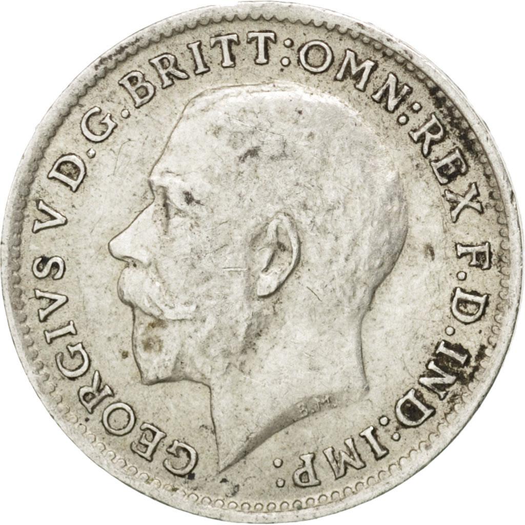 13264 grande bretagne georges v 3 pence 1914 km 813 - Chambre de commerce francaise de grande bretagne ...