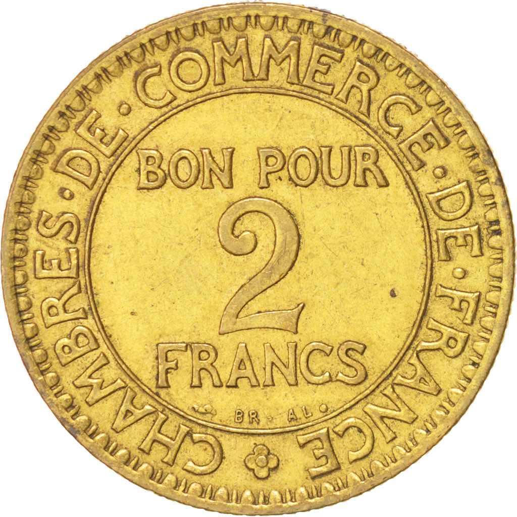 14783 france chambre de commerce 2 francs 1922 paris for Chambre de commerce de france bon pour 2 francs