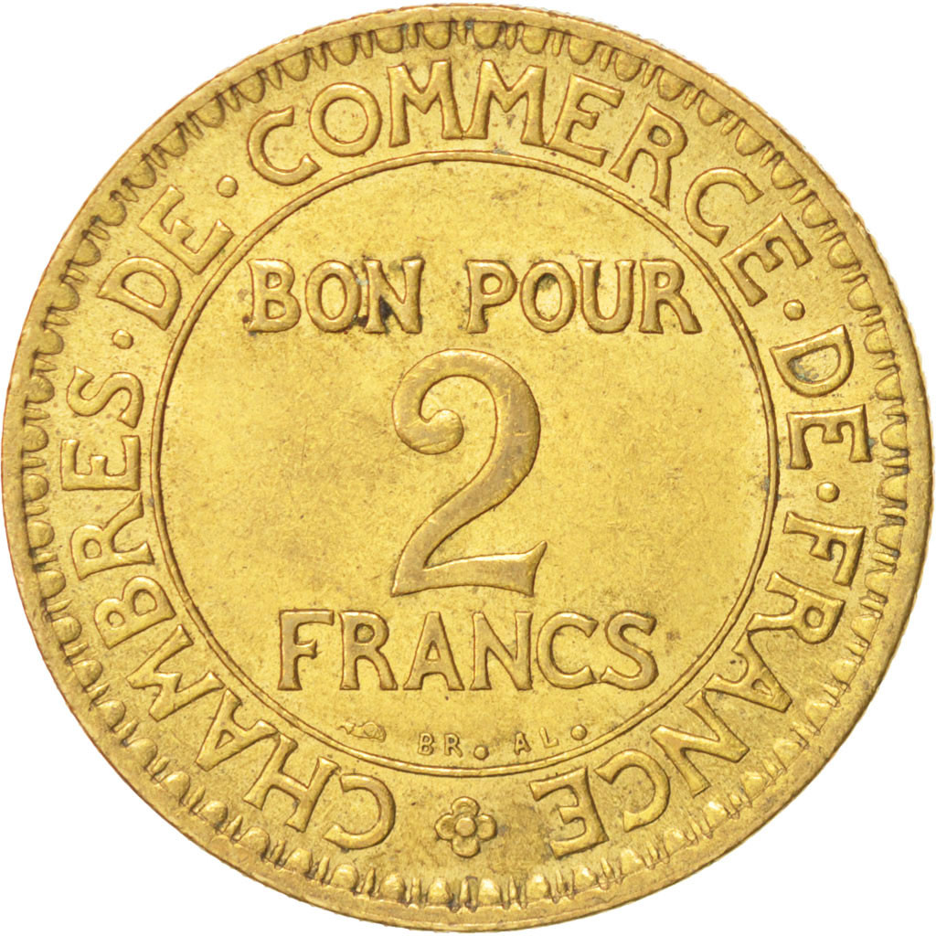 14784 france chambre de commerce 2 francs 1922 paris for Chambre de commerce de france bon pour 2 francs