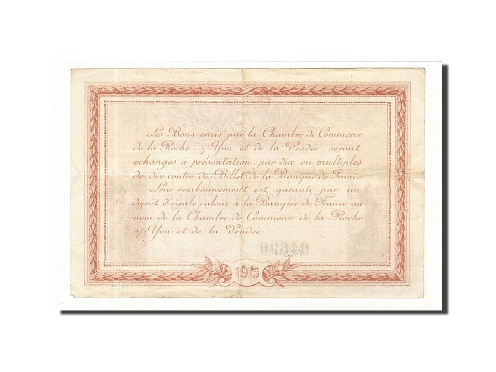 161214 France La Roche Sur Yon 50 Centimes 1915 Ttb