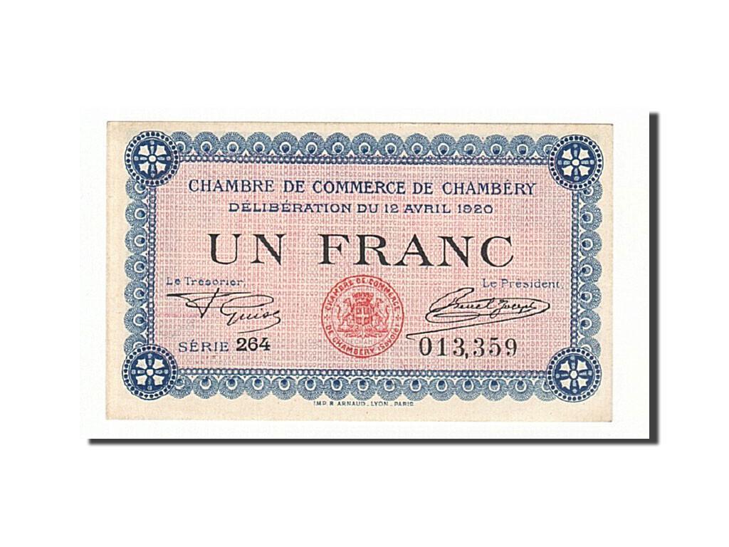161256 france chamb ry 1 franc 1920 spl pirot 44 14 - Chambre de commerce chambery ...