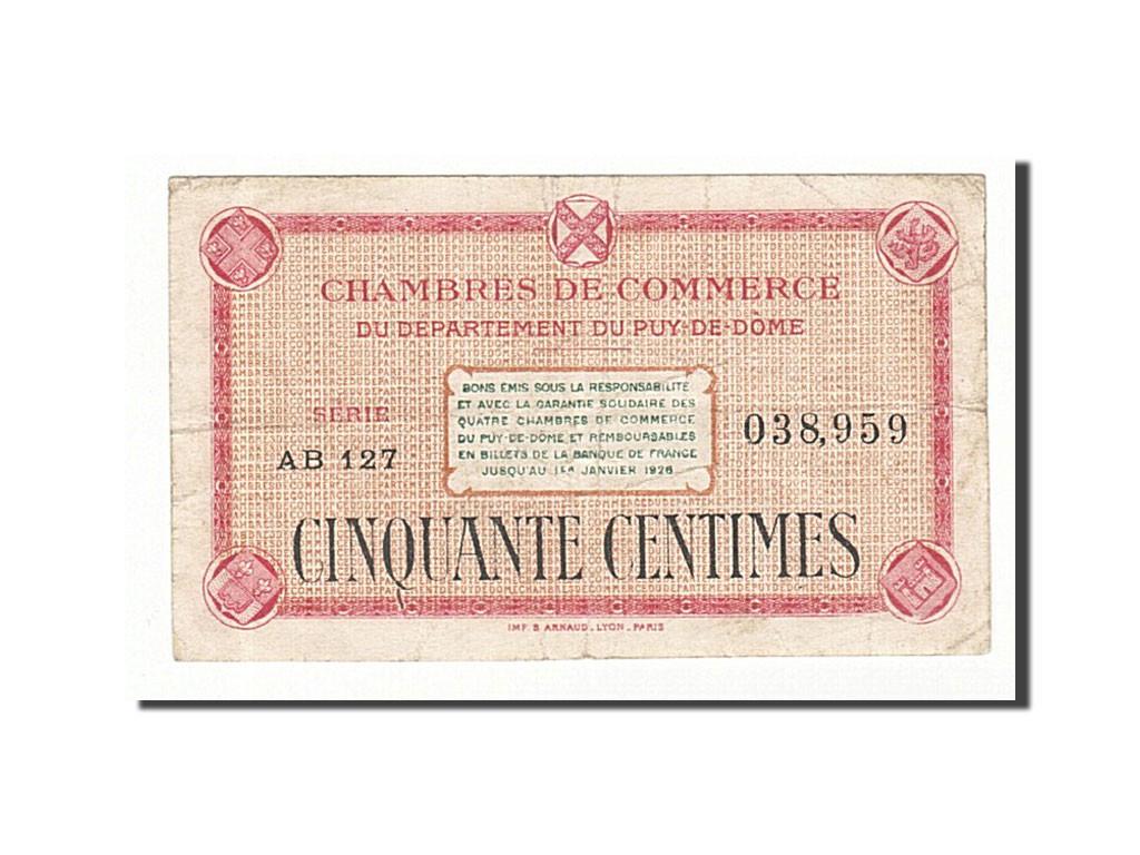 161312 france clermont ferrand 50 centimes ttb pirot - Chambre de commerce de clermont ferrand ...