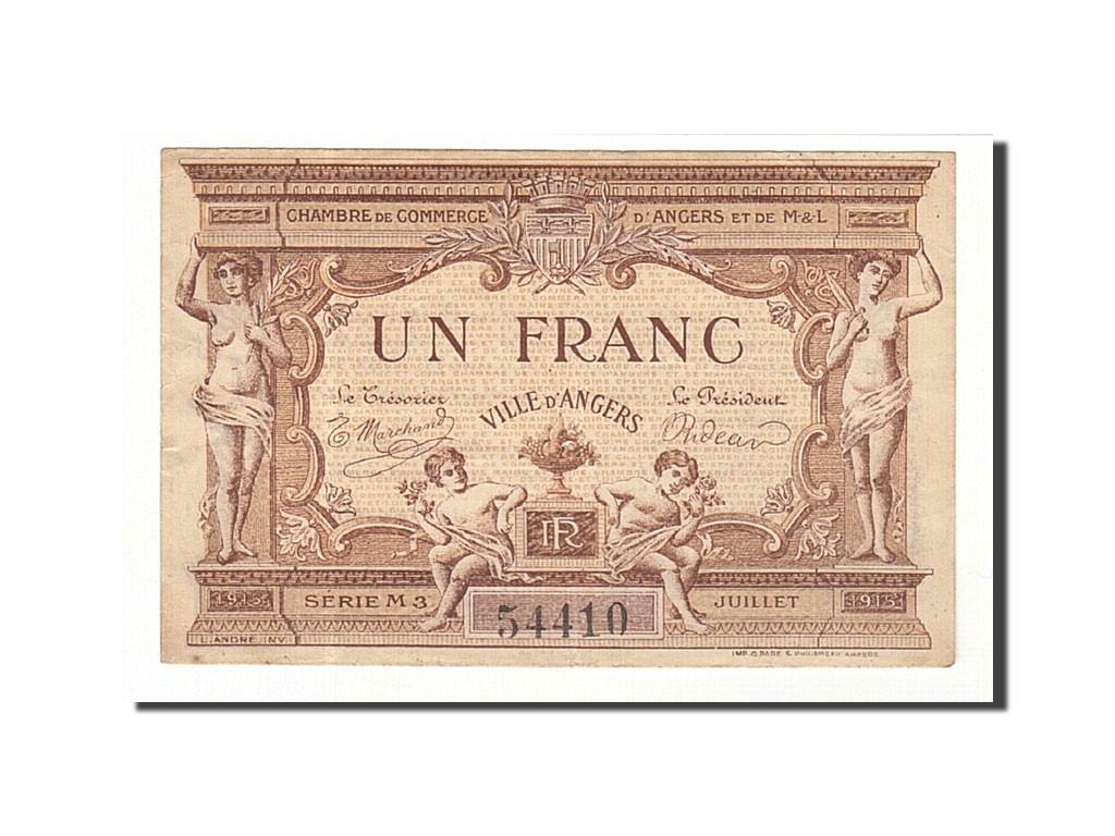 161419 france angers 1 franc 1917 ttb pirot 8 10 ttb 1 franc de 5 15 euros 1917. Black Bedroom Furniture Sets. Home Design Ideas
