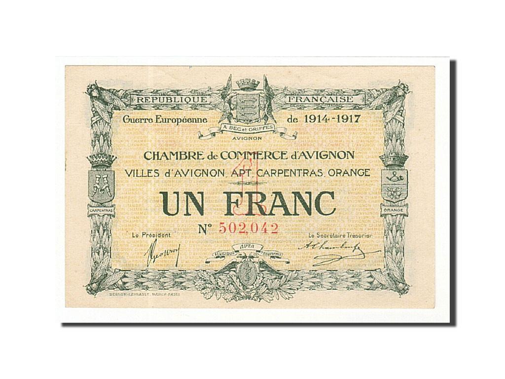 161423 france avignon 1 franc 1915 sup pirot 18 17 sup 1 franc de 5 15 euros 1915. Black Bedroom Furniture Sets. Home Design Ideas