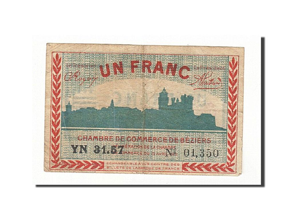 161429 france b ziers 1 franc 1920 ttb pirot 27 30 ttb 1 franc de 5 15 euros 1920. Black Bedroom Furniture Sets. Home Design Ideas