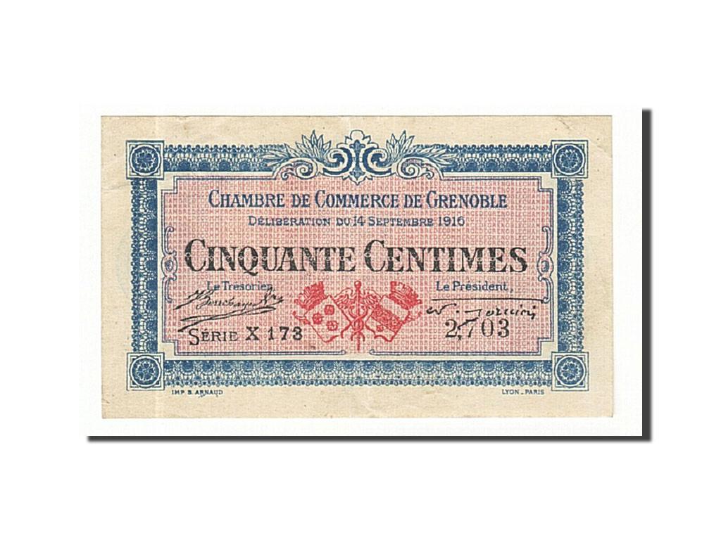 161437 france grenoble 50 centimes 1916 ttb pirot 63 1 ttb 50 centimes de 5 15. Black Bedroom Furniture Sets. Home Design Ideas