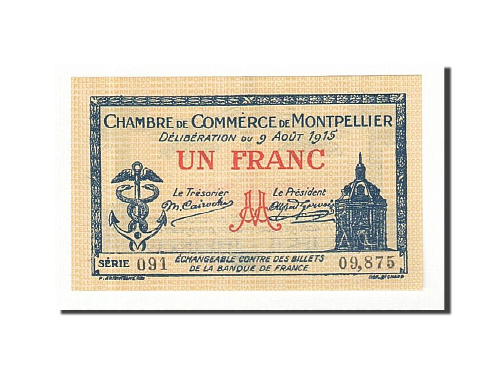 161447 france montpellier 1 franc 1915 sup pirot 85 10 sup 1 franc de 5 15 euros. Black Bedroom Furniture Sets. Home Design Ideas