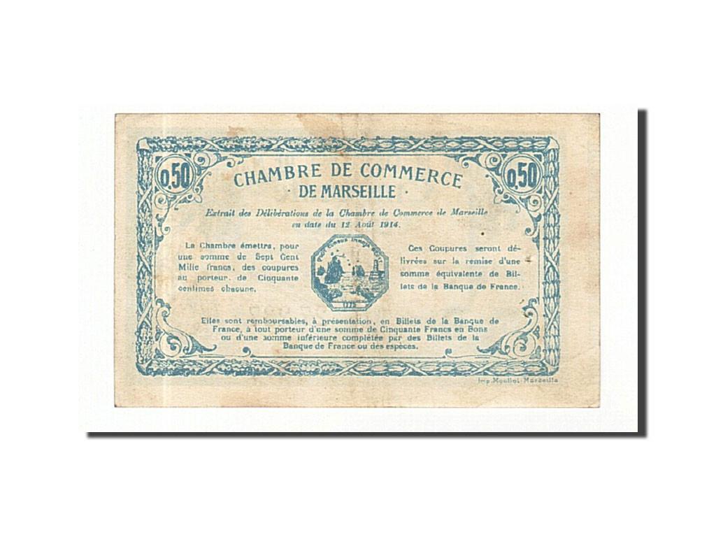 161449 france marseille 50 centimes 1914 ttb pirot 79 27 ttb 50 centimes de 5 15. Black Bedroom Furniture Sets. Home Design Ideas