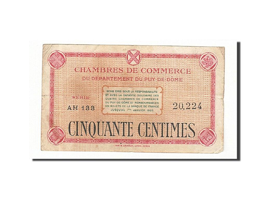 161466 france clermont ferrand 50 centimes ttb pirot - Chambre de commerce de clermont ferrand ...