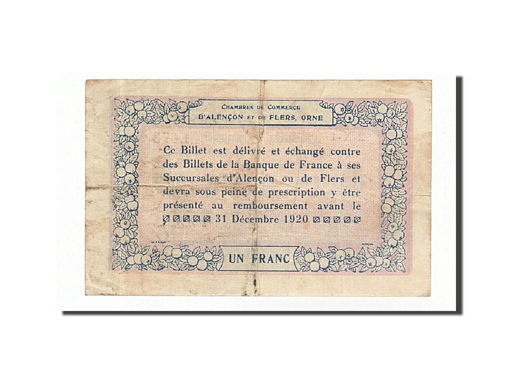 161538 france alen on et flers 1 franc 1915 ttb pirot 6 17 ttb 1 franc de 5 15 euros - Chambre de commerce alencon ...