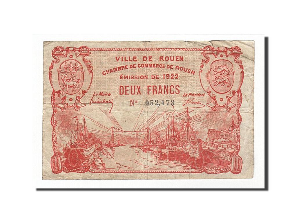 161737 france rouen 2 francs 1920 ttb pirot 110 52 ttb 2 francs de 5 15 euros 1920. Black Bedroom Furniture Sets. Home Design Ideas