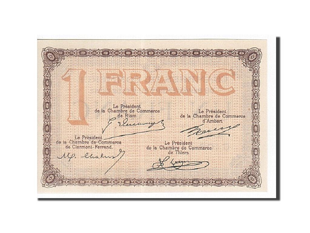 161943 france clermont ferrand 1 franc neuf pirot 103 - Chambre de commerce de clermont ferrand ...