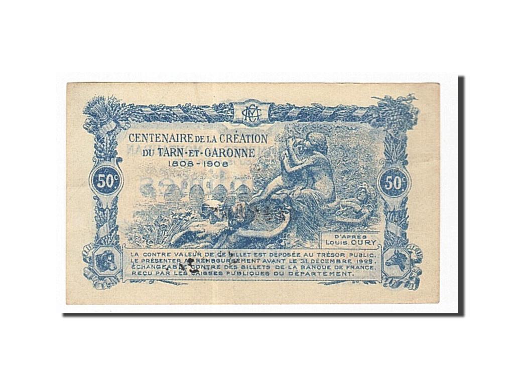 162027 france montauban 50 centimes 1921 sup pirot for Chambre de commerce montauban