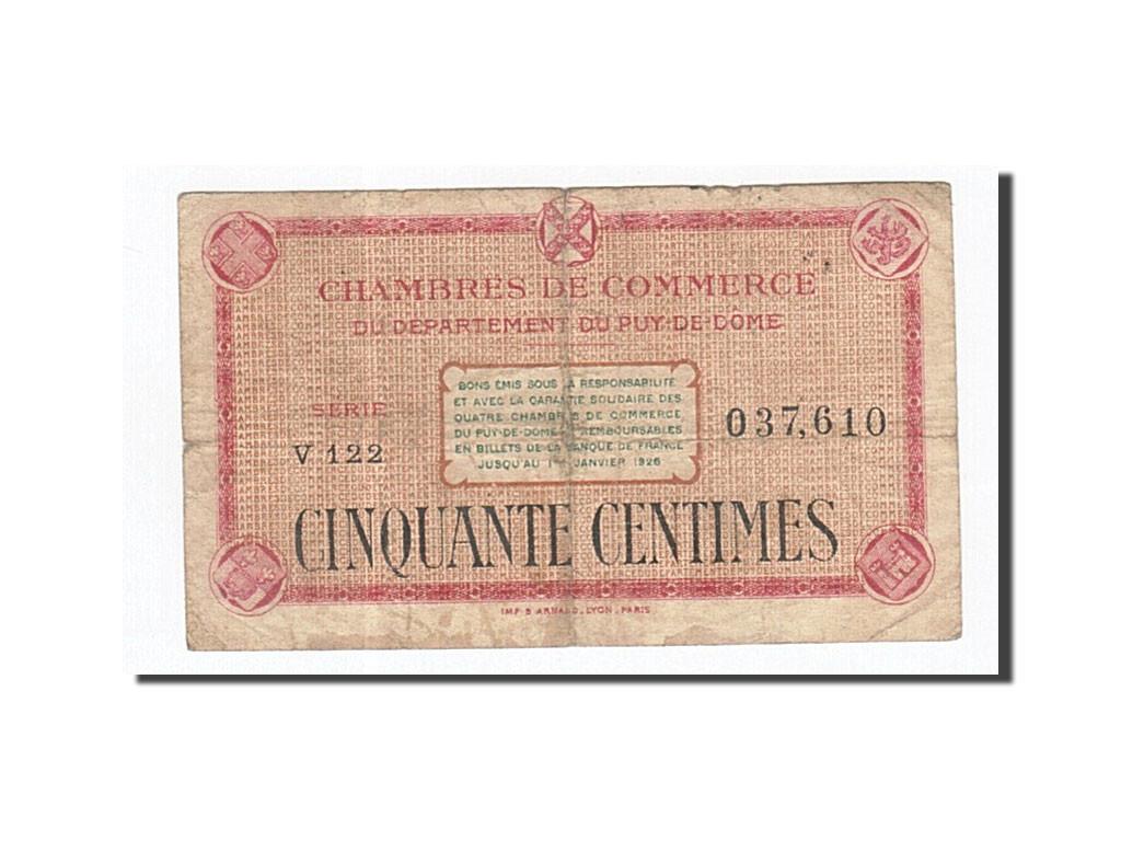 162033 france clermont ferrand 50 centimes tb pirot - Chambre de commerce de clermont ferrand ...