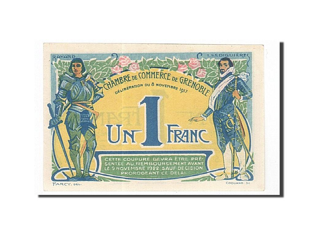 162064 france grenoble 1 franc 1917 neuf pirot 63 20 neuf 1 franc de 16 50 euros. Black Bedroom Furniture Sets. Home Design Ideas
