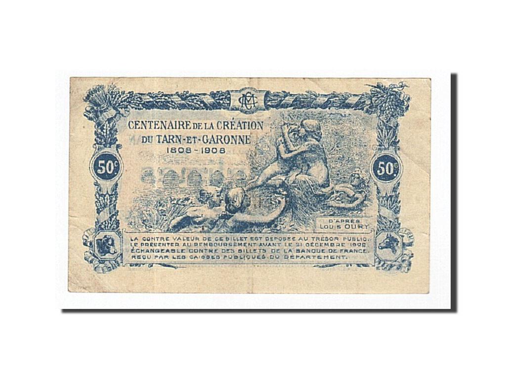 162085 france montauban 50 centimes 1921 ttb pirot for Chambre de commerce montauban