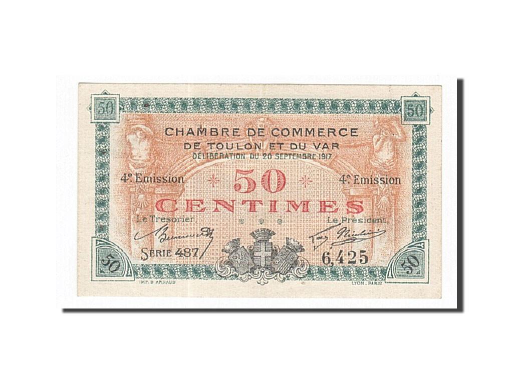 162147 france toulon 50 centimes 1917 sup pirot 121 18 sup 50 centimes de 5 15 euros. Black Bedroom Furniture Sets. Home Design Ideas