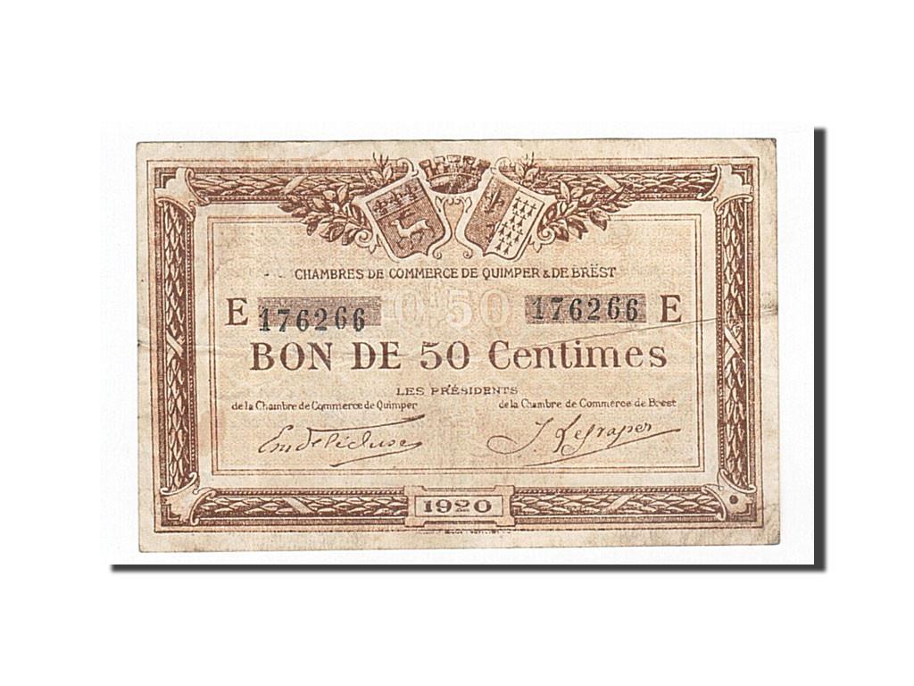162254 france quimper et brest 50 centimes 1920 ttb pirot 104 16 ttb 50 centimes de 5 - Chambre de commerce de brest ...