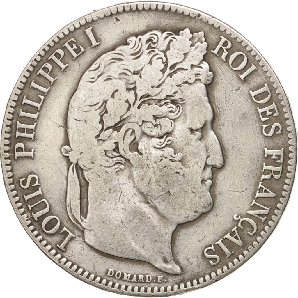 16241 france louis philippe 5 francs 1835 marseille tb argent km tb 5. Black Bedroom Furniture Sets. Home Design Ideas