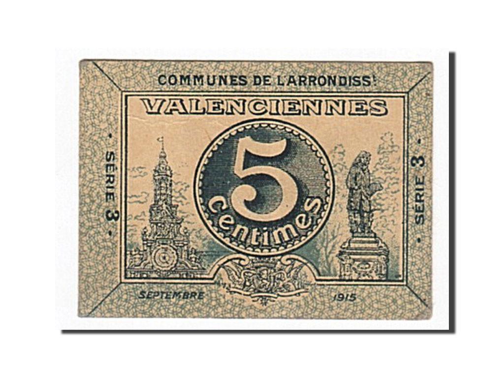 162773 france valenciennes 5 centimes 1915 ttb pirot 59 3242 ttb 5 centimes de 16. Black Bedroom Furniture Sets. Home Design Ideas
