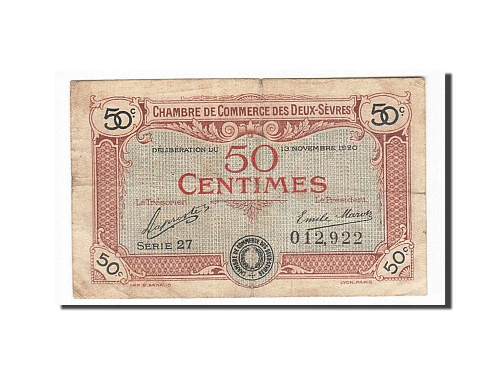 162871 france niort 50 centimes 1920 tb pirot 93 10 tb 50 centimes de 5 15 euros - Chambre de commerce niort ...