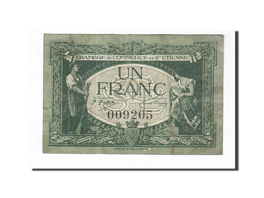 163084 france saint etienne 1 franc 1921 tb pirot 114 7 tb 1 franc de 5 15 euros - Chambre de commerce saint etienne ...