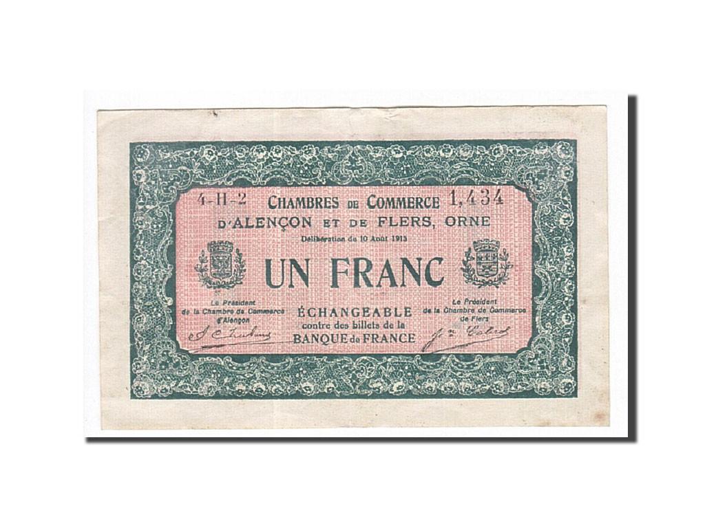 163280 france alen on et flers 1 franc 1915 ttb pirot 6 40 ttb 1 franc de 5 15 - Chambre de commerce alencon ...