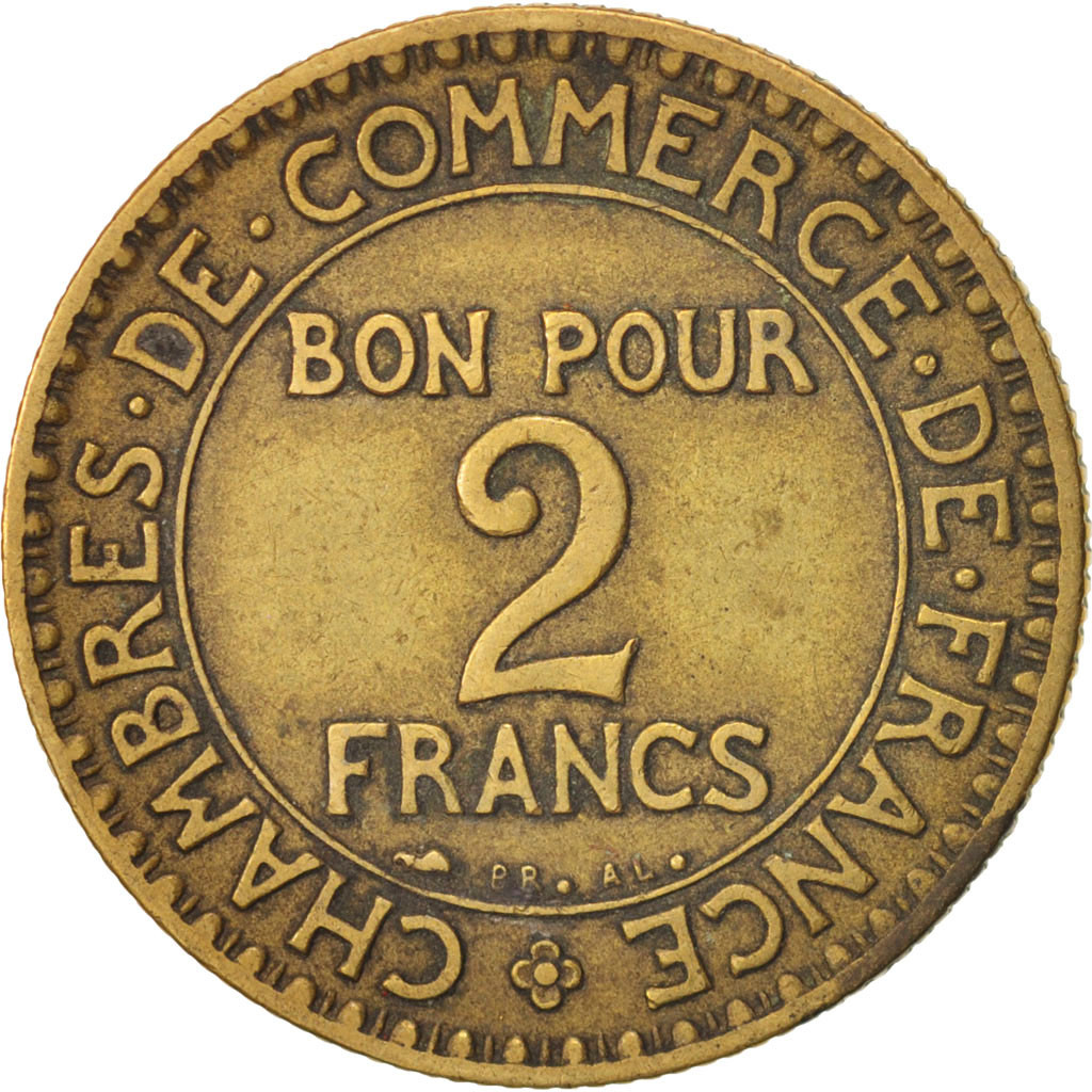 19273 france chambre de commerce 2 francs 1926 paris for Chambre commerce france