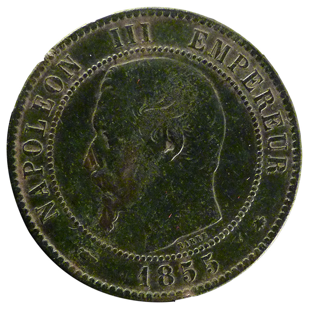 Monnaies semi modernes second empire 10 centimes napol on iii ebay - Le comptoir de la monnaie ...