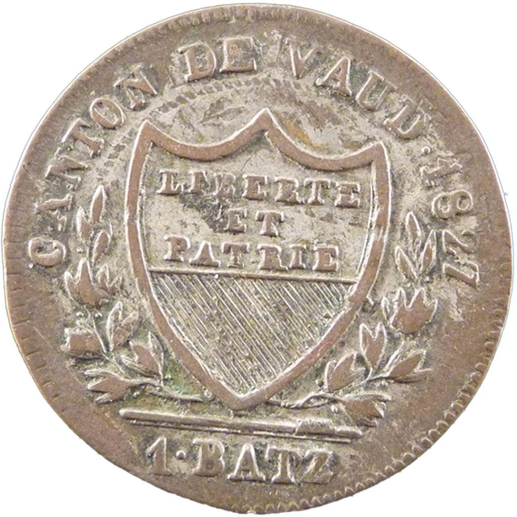 21234 canton de vaud suisse 1 batz sup batzen de 16 for Chambre de commerce vaud