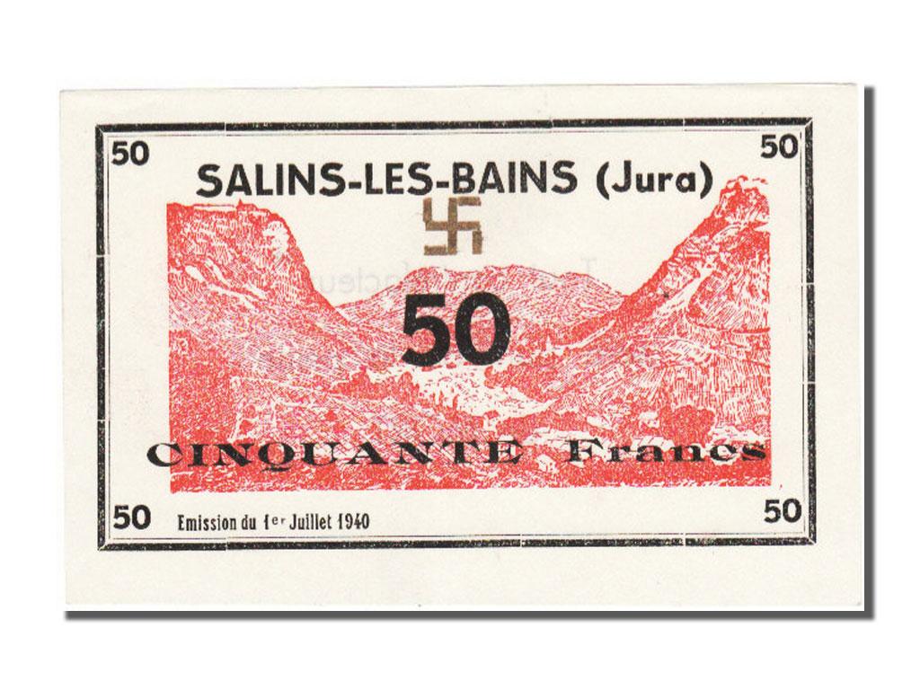 Billets de n cessit fran ais guerre 1939 1940 salins les for Salins les bains