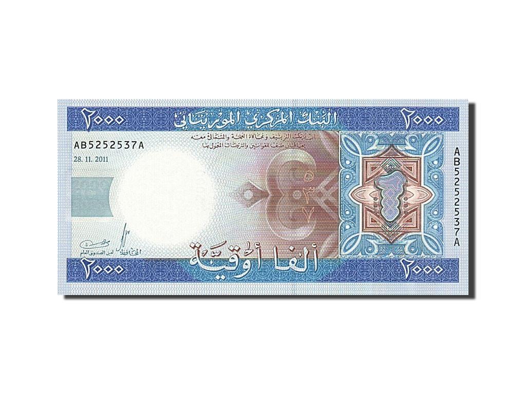 263248 mauritanie 2000 ouguiya 2011 2011 11 28 neuf for Chambre de commerce mauritanie