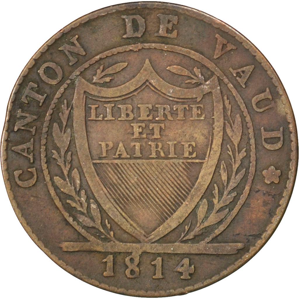 29178 suisse canton de vaud 1 batzen 10 rappen 1814 km for Chambre de commerce vaud