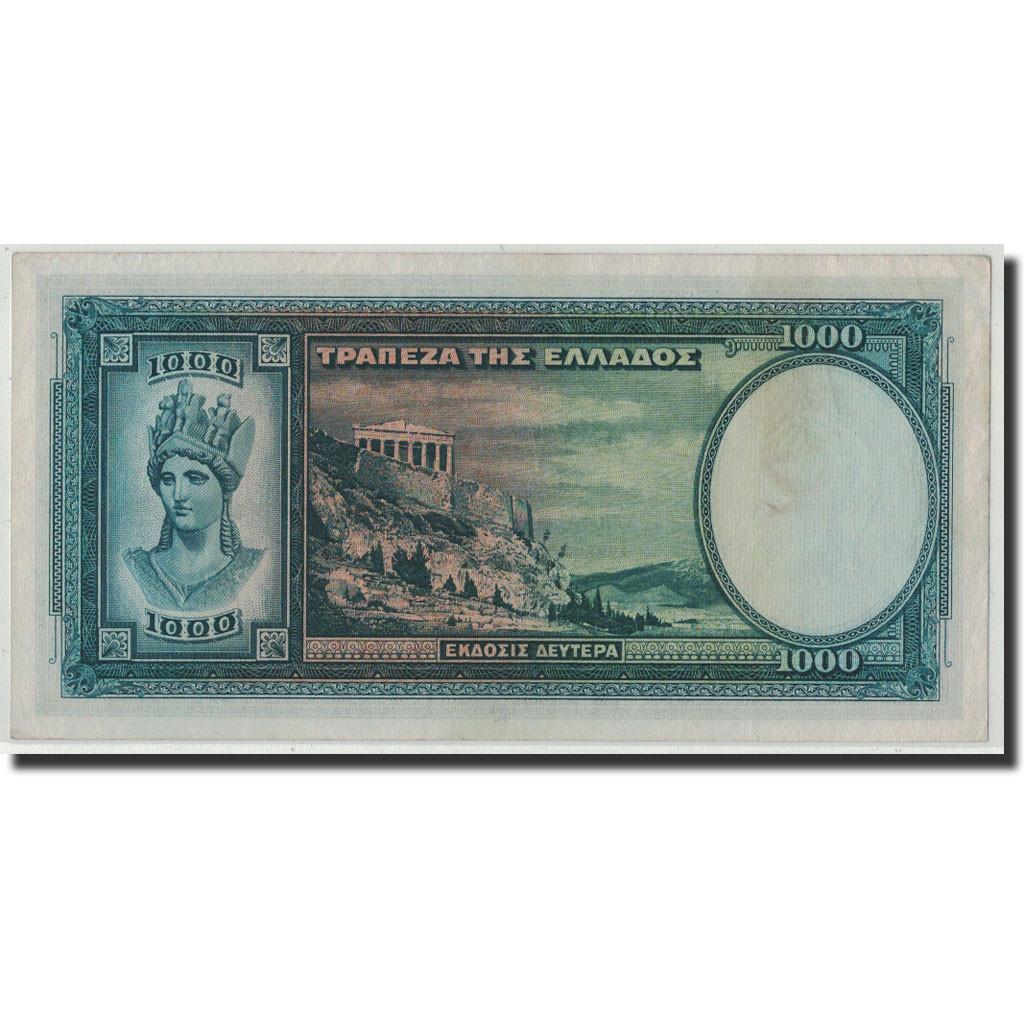 #313628 Grèce, 1000 Drachmai, 1939, KM:110a, 1939-01-01