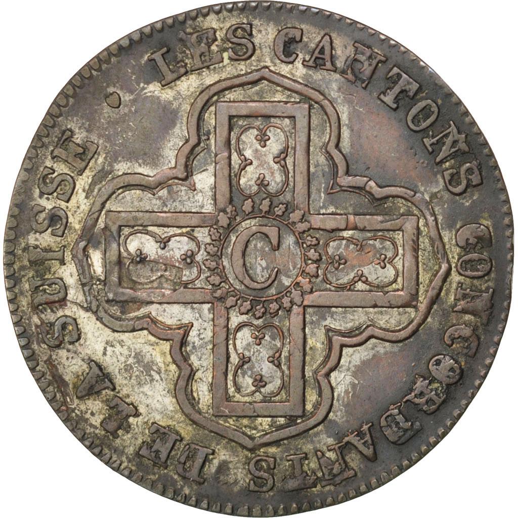 33319 suisse canton de vaud 1 batzen ou 10 rappen 1829 for Chambre de commerce vaud