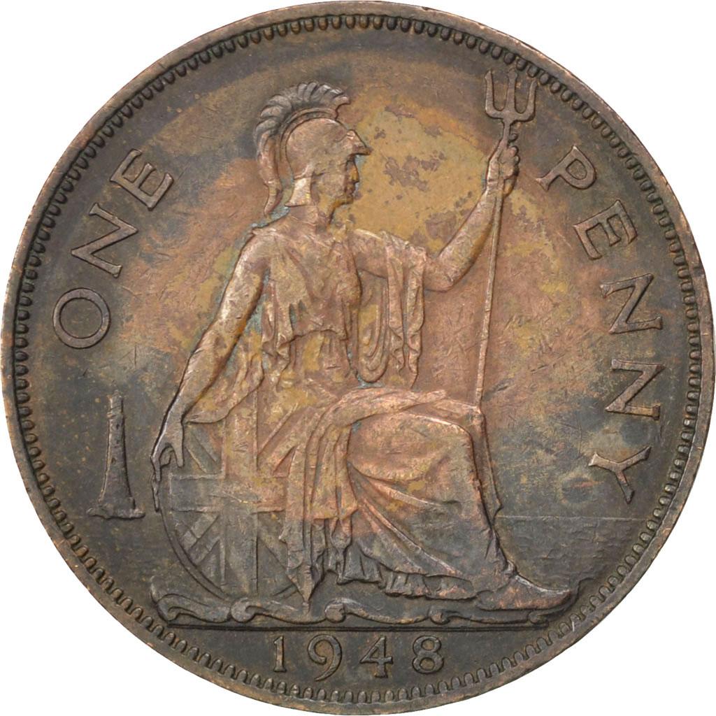36017 grande bretagne georges v penny 1948 km 845 - Chambre de commerce francaise de grande bretagne ...