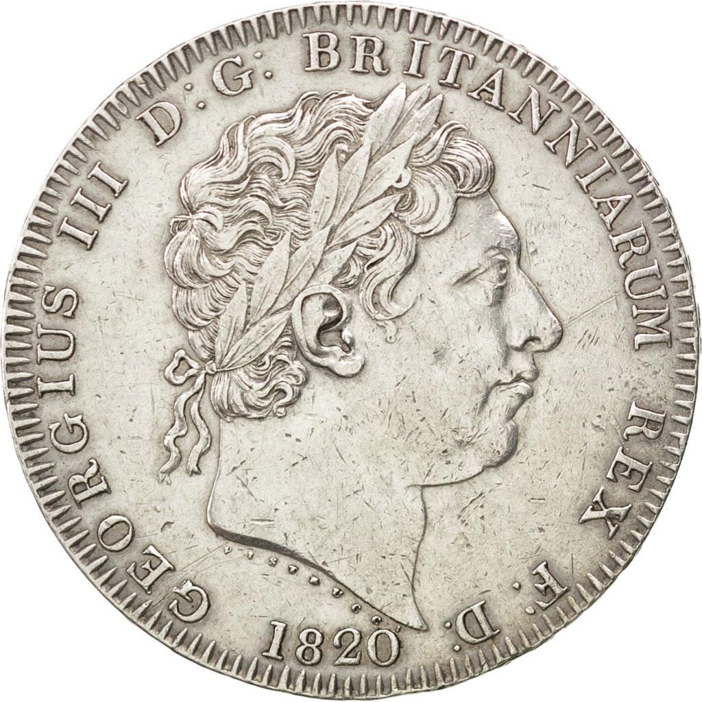 36423 grande bretagne georges iii 1 crown 1820 km 675 for Chambre de commerce francaise de grande bretagne