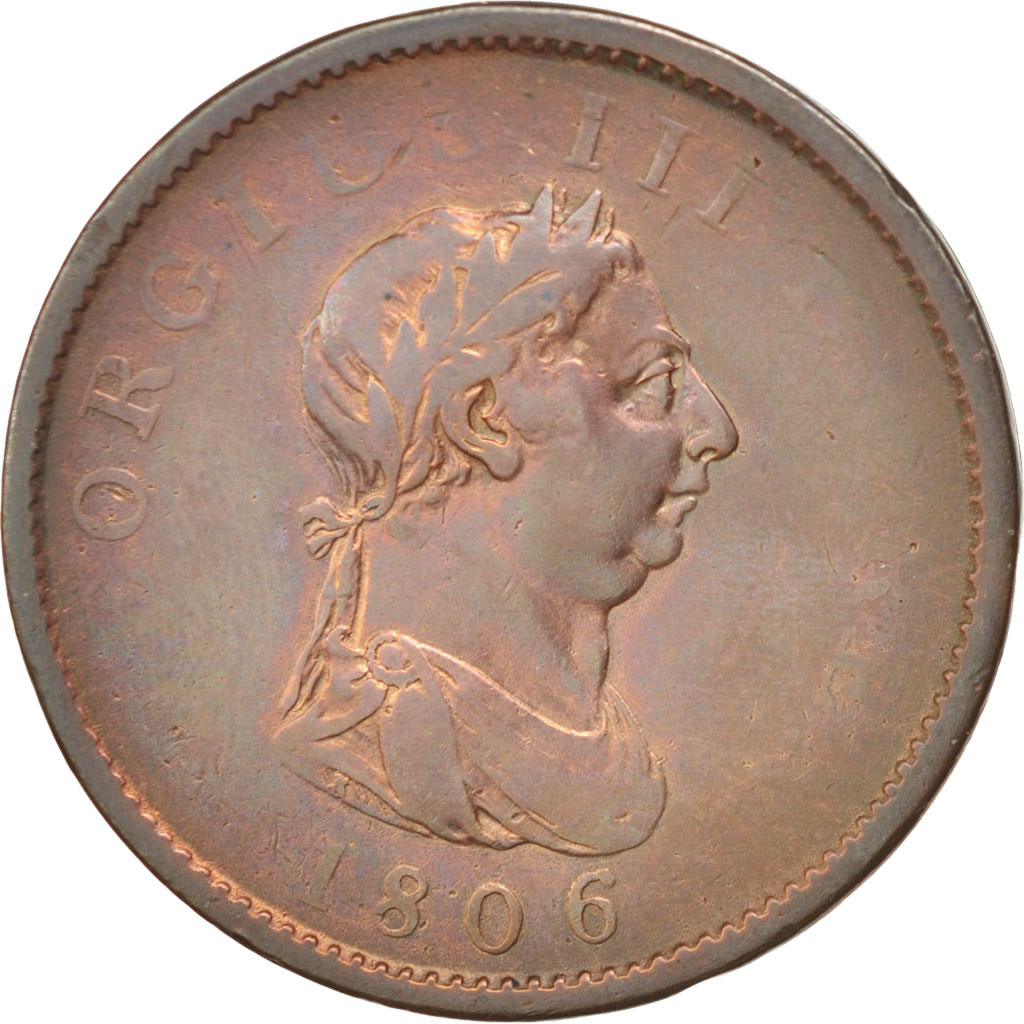 37812 grande bretagne george iii penny 1806 km 663 for Chambre de commerce francaise en grande bretagne