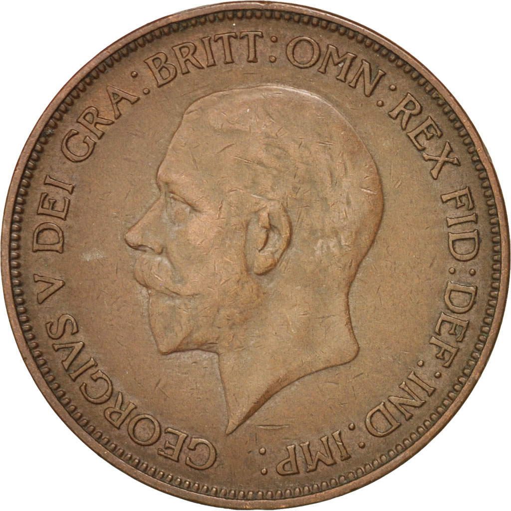 38095 grande bretagne george v 1 penny 1934 km 838 - Chambre de commerce francaise de grande bretagne ...