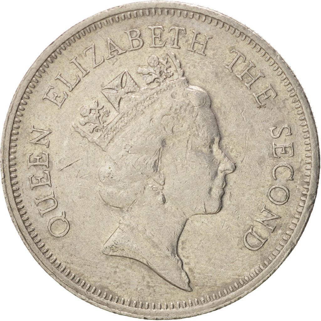 38285 hong kong elizabeth ii 1 dollar 1987 km 63 for Chambre commerce hong kong