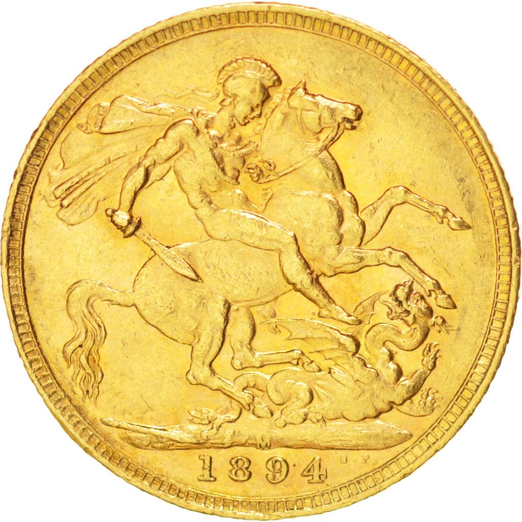 38299 grande bretagne victoria souverain 1894 km 785 for Chambre de commerce francaise en grande bretagne
