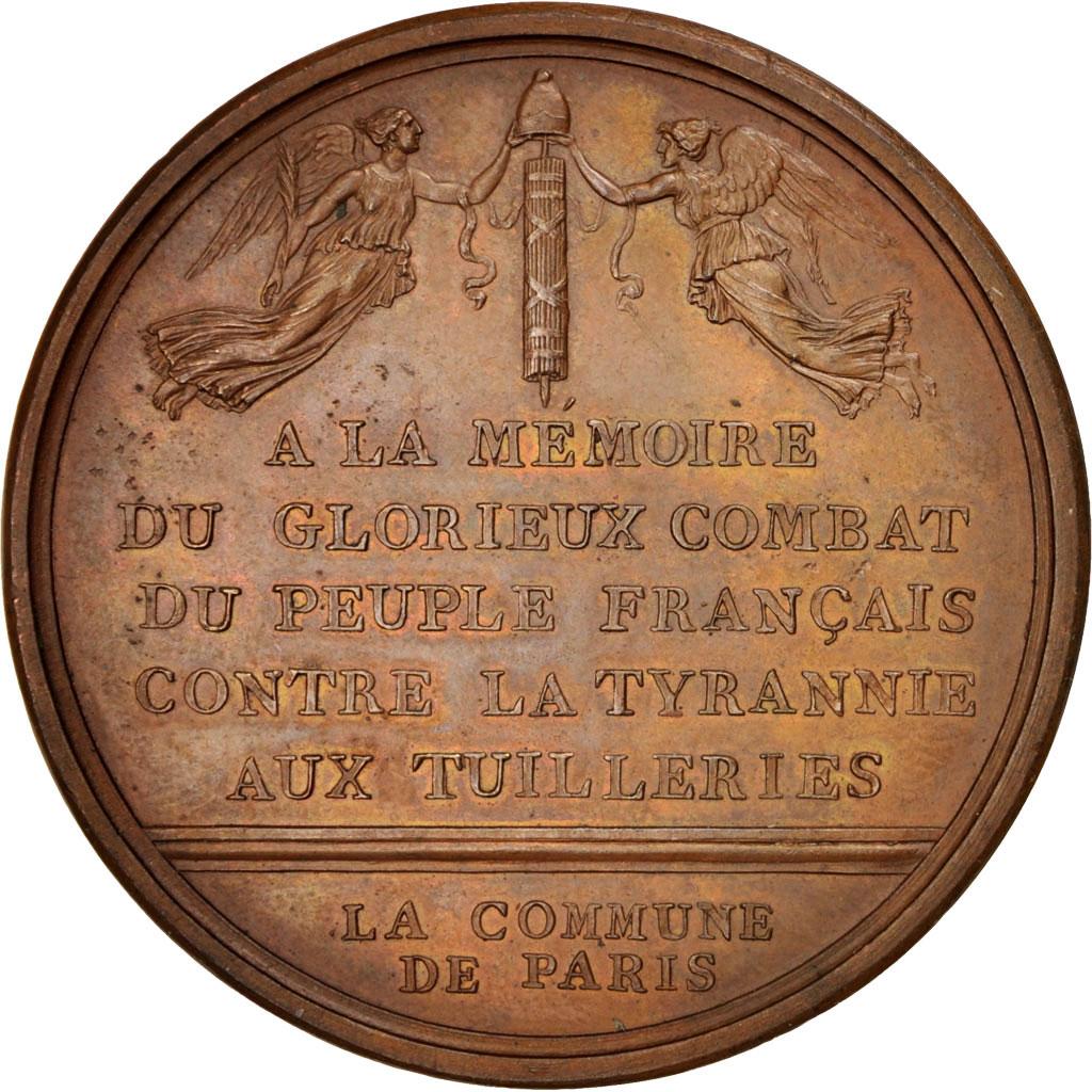 400115 journ e du 10 ao t 1792 prise des tuileries - Comptoir des tuileries cours de l or ...