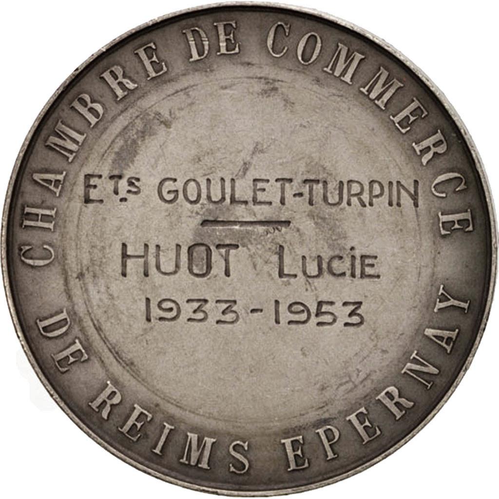 403730 france chambre de commerce de reims epernay business industry medal 195 sup - Chambre des commerces reims ...