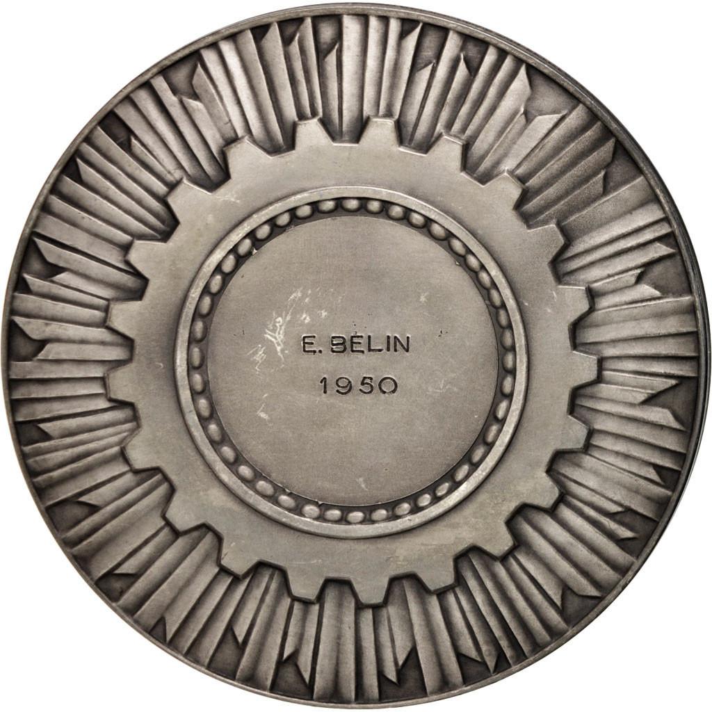 403992 france chambre de commerce de paris business industry medal 1950 ttb ttb. Black Bedroom Furniture Sets. Home Design Ideas