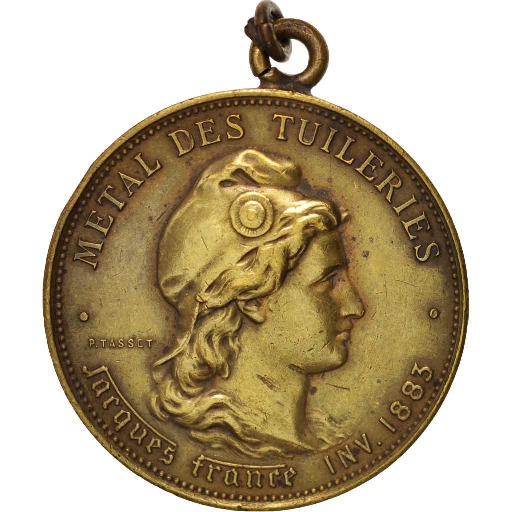 Aluminum Brass Working France: #404006 France, Métal Du Palais Des Tuileries, History