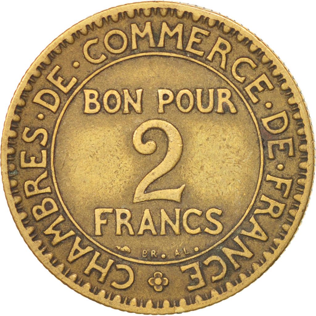 406498 france chambre de commerce 2 francs 1926 paris for Chambre commerce france